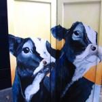 Koeien op paneel